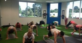 Members Of A Local Personal Training Studio Sweat It Out For A Great Cause